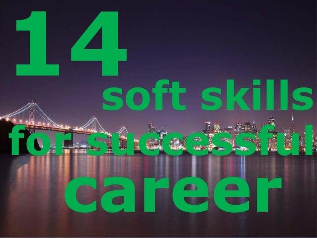LOGO 14soft skills for successful career