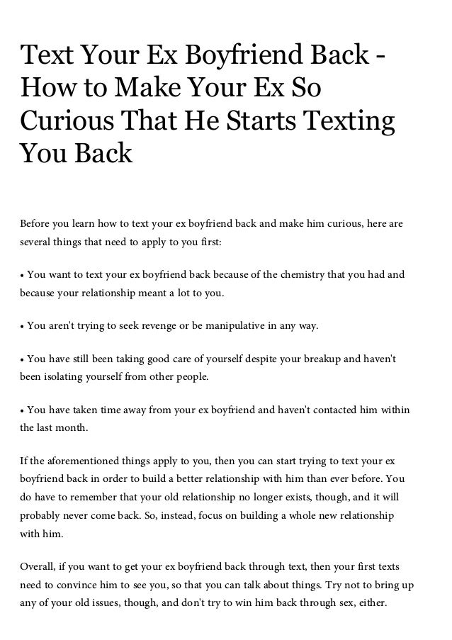 How to make him want you texting | 9 Sexy Texts That Will Make Him