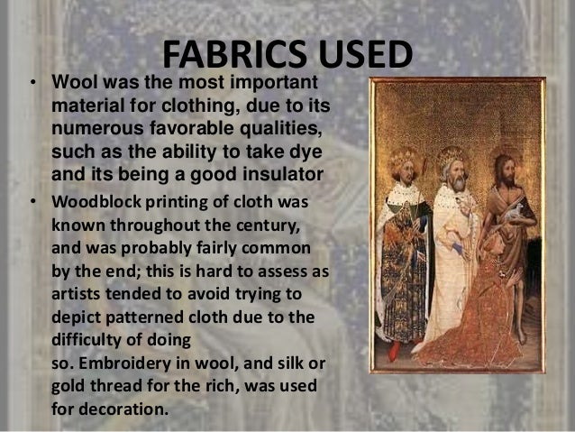 14th century fashion and clothing