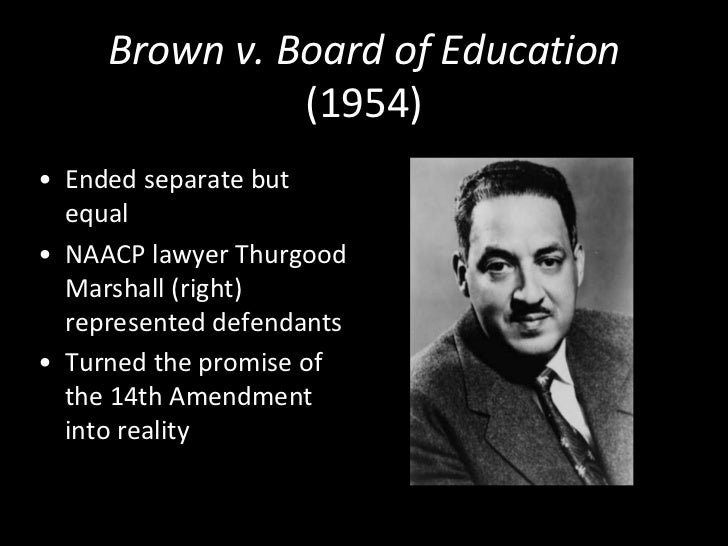 """plessy paves the way for brown essay The landmark unanimous ruling in brown v - brown v board of education (1954) ruling in brown v board of education (1954) """" – plessy pave the way for."""