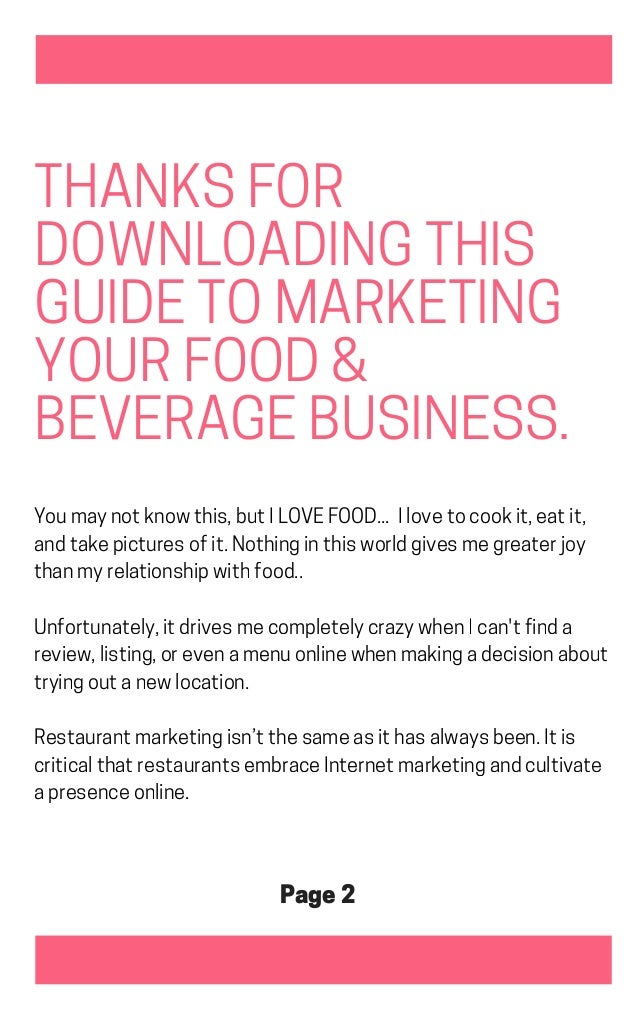 14 tips to market your restaurant, eatery or cafe Slide 2