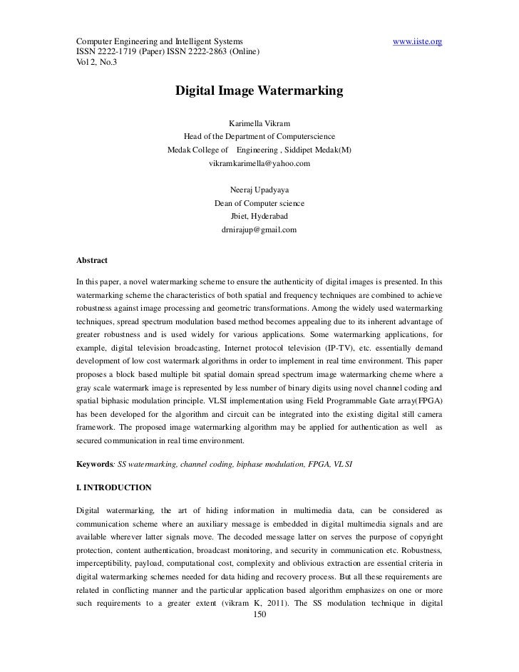 Computer Engineering and Intelligent Systems                                                  www.iiste.orgISSN 2222-1719 ...