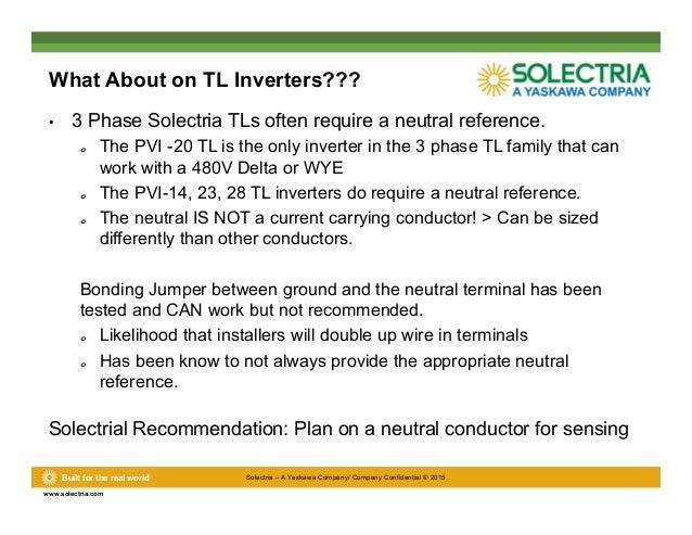 Solectria Inverter Manual