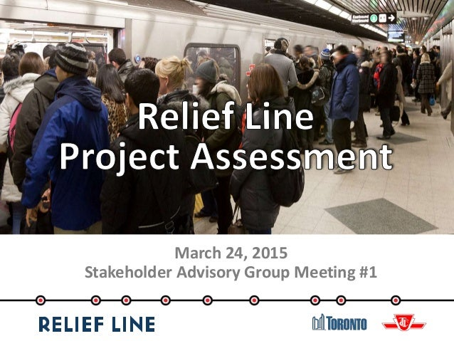 March 24, 2015 Stakeholder Advisory Group Meeting #1