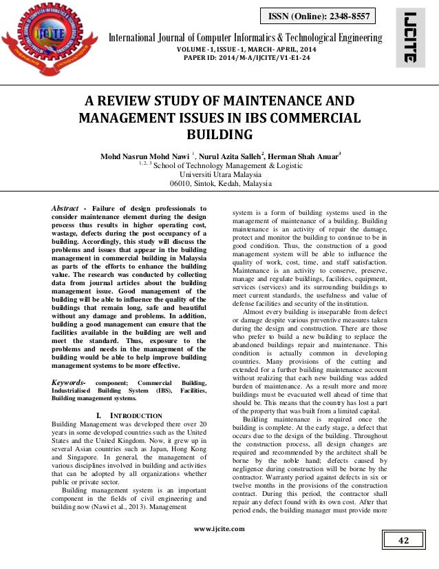 IJCITE www.ijcite.com International Journal of Computer Informatics & Technological Engineering VOLUME -1, ISSUE -1, MARCH...