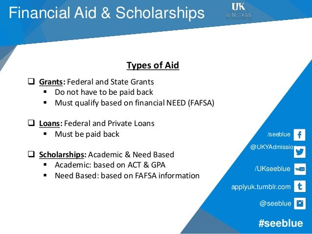 What Types Of Scholarships For Room And Board