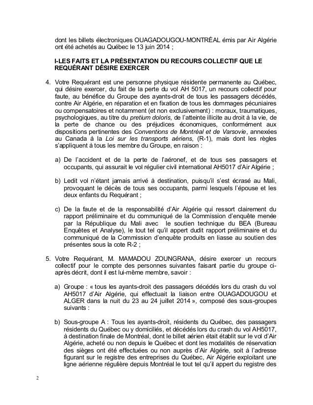15 06-30 requête en autorisation air algérie Slide 2
