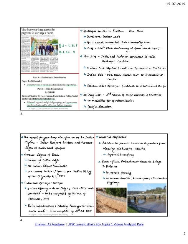 The Hindu- Civilpedia Articles Analysied by Shankar IAS Academy