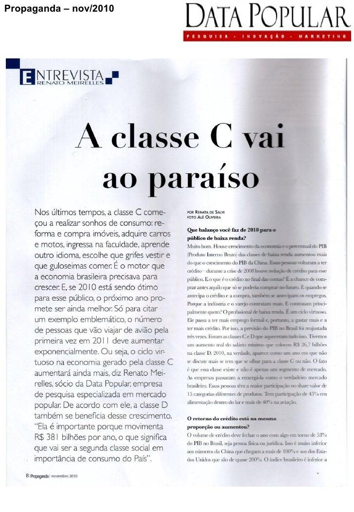 Propaganda – nov/2010