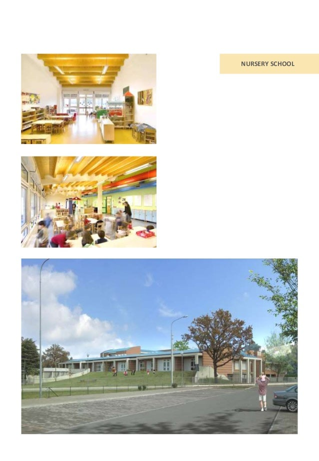 School buildngs design with pedagogic and sustainable approach