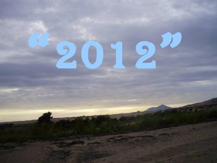 """ 2012 """
