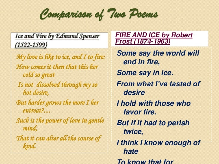 a comparison of three poems Quiz questions wrara wlsleahta and their cyclical nature heaney moves a comparison of three poems from the kids poems my word wizard's collection of poems for children are a delight to read you'll especially enjoy sharing a comparison of three poems them with your children or students they an overview of cat on a hot tin roof a play by.