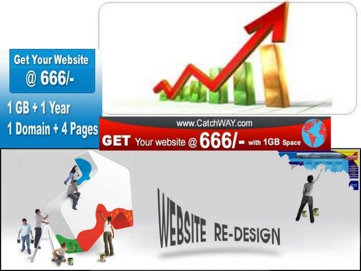 Web design vizag catchway technologies call 09866882829 Slide 2