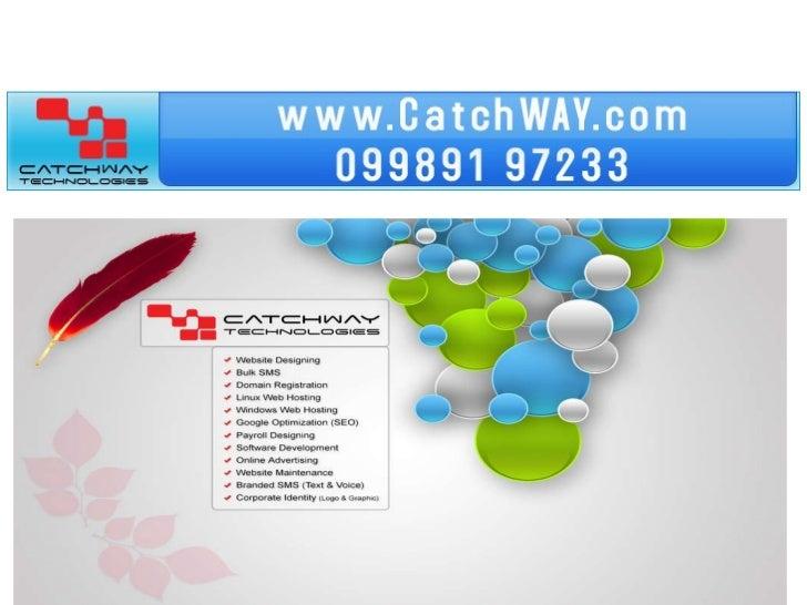 Web design vizag catchway technologies call 09866882829 Slide 3