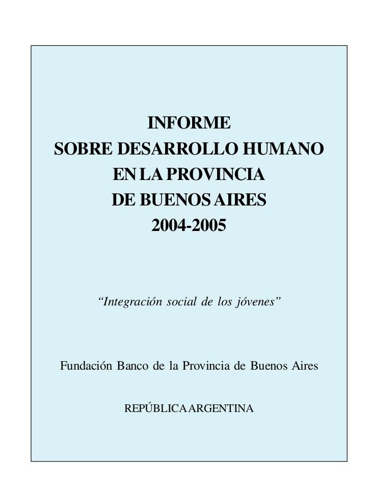 EXPRESIONES DE RECONOCIMIENTO                                1                 INFORME        SOBRE DESARROLLO HUMANO     ...