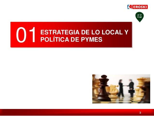 01  ESTRATEGIA DE LO LOCAL Y POLÍTICA DE PYMES  Índice / 3