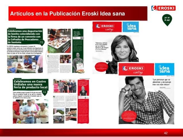 Artículos en la Publicación Eroski Idea sana  Política de comunicación en digital  42