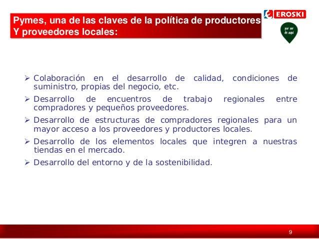 Pymes, una de las claves de la política de productores Y proveedores locales:   Colaboración en el desarrollo de suminist...