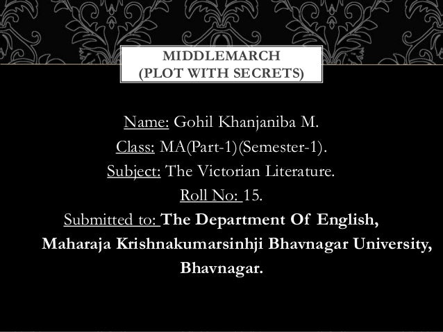 Middlemarch plot with Secrets