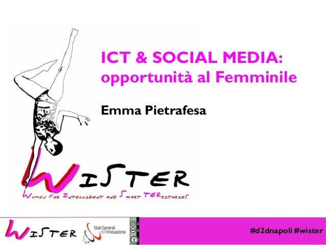 #d2dnapoli #wister Foto di relax design, Flickr ICT & SOCIAL MEDIA: opportunità al Femminile Emma Pietrafesa
