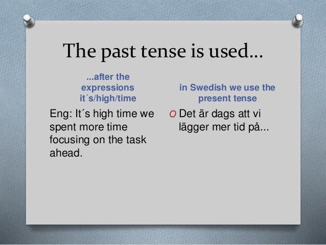 differences between the swedish and english The difference between english and chinese in translation  by nancy there are many differences between english and chinese translation here are some examples to.