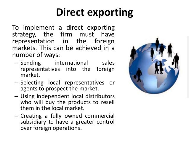 what is an export strategy?