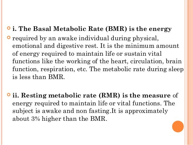 how to find resting metabolic rate