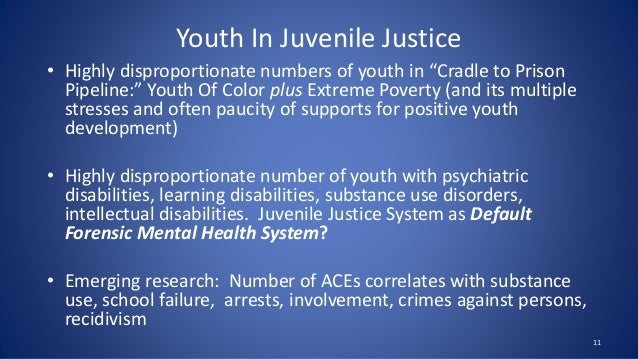 adolescent development in juvenile recidivism Neglect, and in particular ongoing neglect, during adolescence play a critical role in the development of delinquency and in the continuation of offending trajectories for moderate and high risk adolescents involved with the juvenile justice system.
