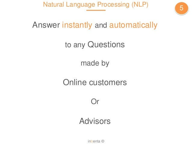 An Overview of Natural Language Processing