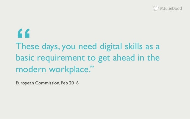 The era of digital workers   Panel: the death of the digital specialist?   Digital conference   27 October 2016 Slide 2