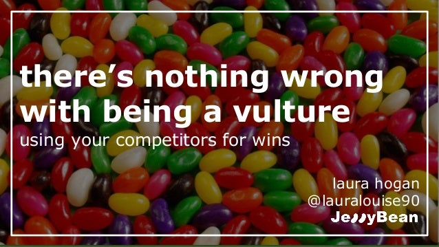 there's nothing wrong with being a vulture using your competitors for wins laura hogan @lauralouise90