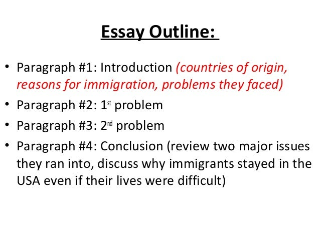 immigration introduction paragraph
