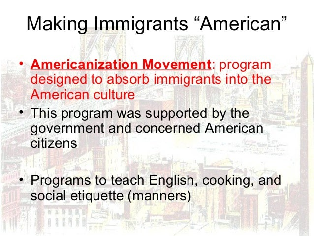 how did immigration affect america in the 20th century