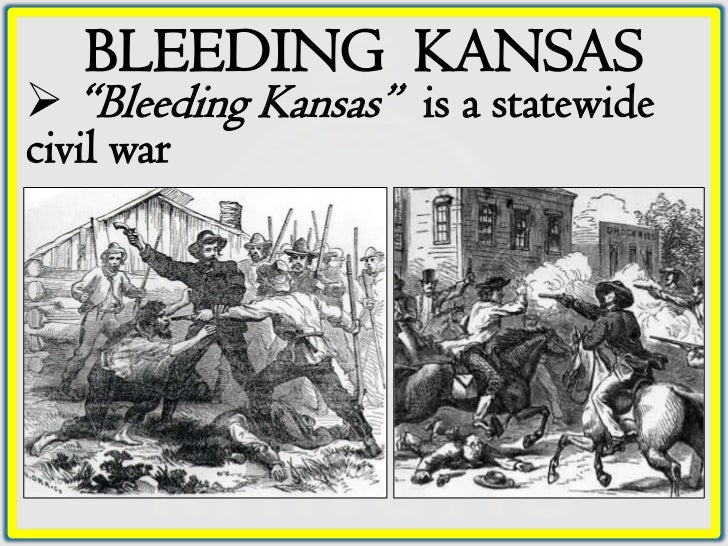 bleeding kansas and popular soveriegnty In 1854, the kansas-nebraska act overturned the missouri compromise, which stated that slavery would not be allowed north of latitude 36°30′ instead, settlers would use the principle of.