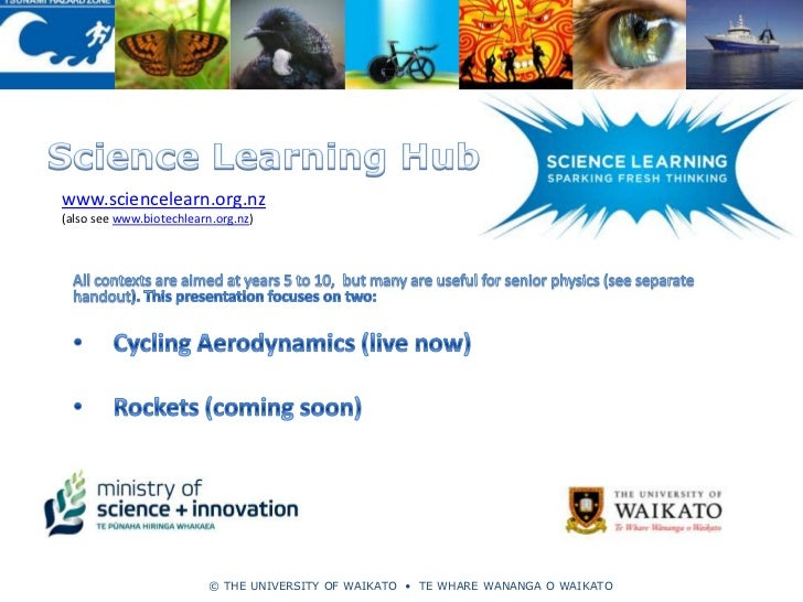 www.sciencelearn.org.nz(also see www.biotechlearn.org.nz)                          © THE UNIVERSITY OF WAIKATO • TE WHARE ...