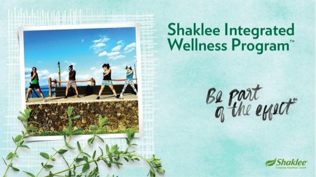 "Shaklee Integrated Wellness Program"""