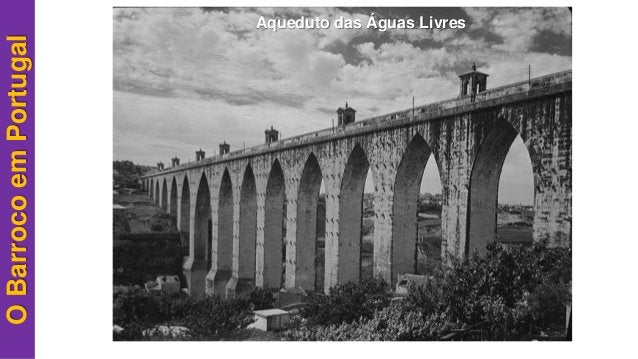 OBarrocoemPortugal Aqueduto das Águas Livres