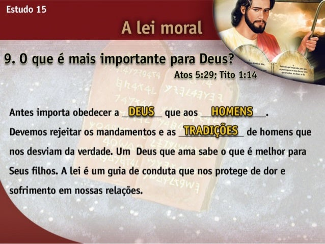 15   a lei moral