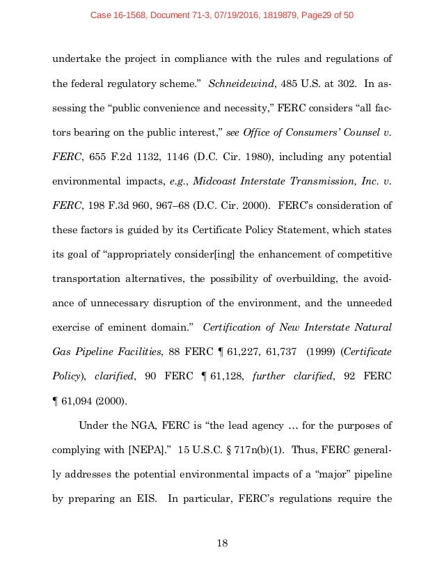 Natural Gas Supply Association Amicus Curiae Brief Supporting Constit