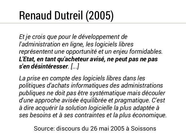 Thierry Breton (2006)  Les expériences réalisées confirment que l'évolution en cours peut  donc comporter des avantages éc...