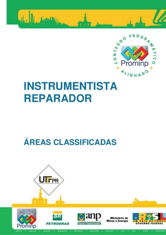 INSTRUMENTISTA REPARADOR ÁREAS CLASSIFICADAS