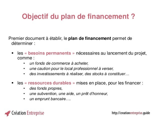 atelier financier 4 le plan de financement. Black Bedroom Furniture Sets. Home Design Ideas