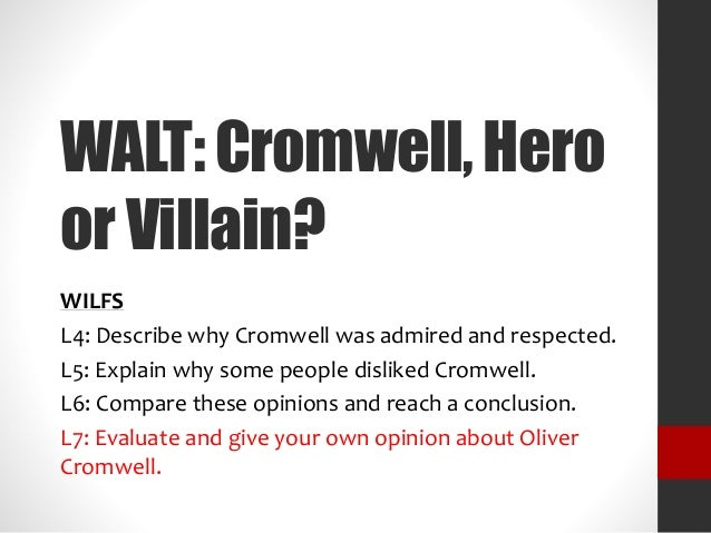 Opinion: 'Cromwell was Framed'