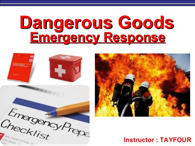 15 IATA emergency response