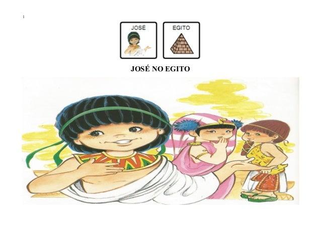 1 JOSÉ NO EGITO