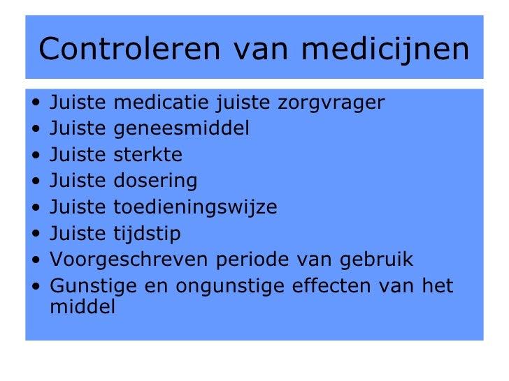 medicatieprotocol