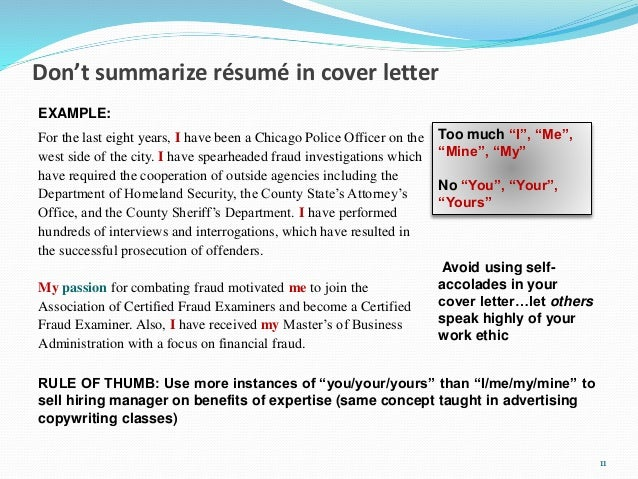 15 minute cover letter makeover