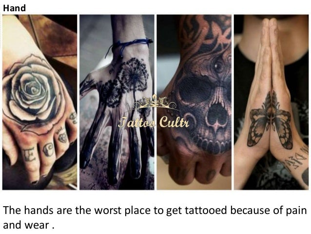 15 MOST PAINFUL PLACES TO GET A TATTOO