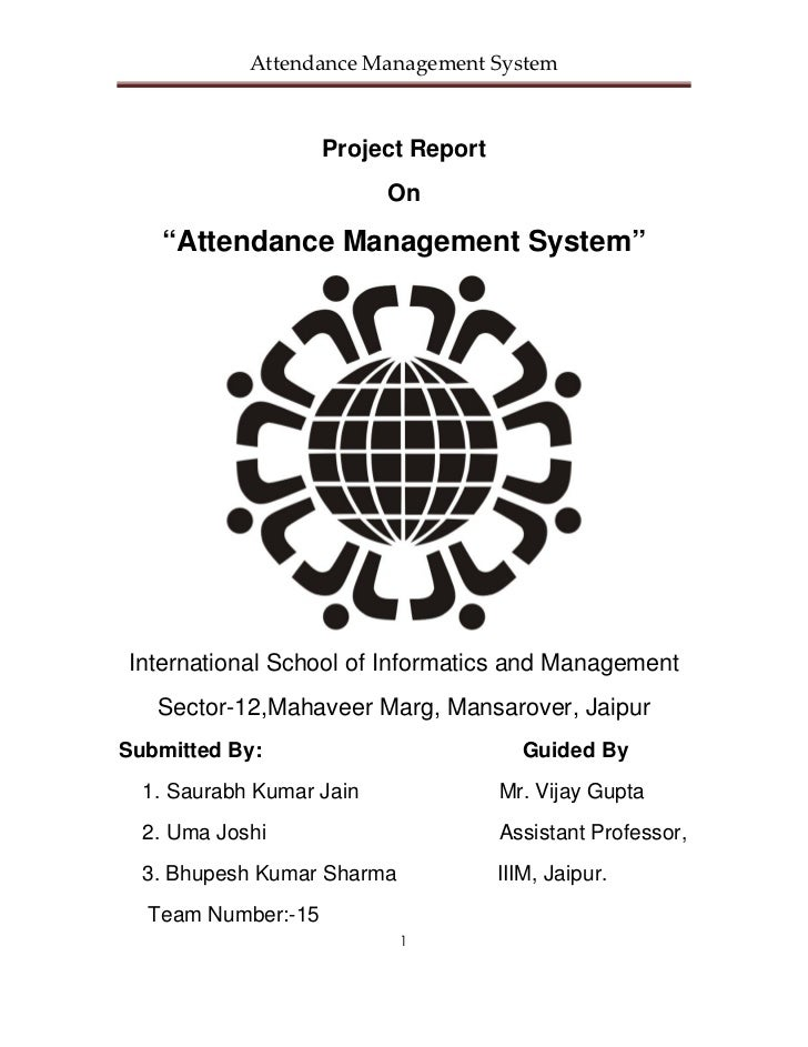 About Online Attendance Management System