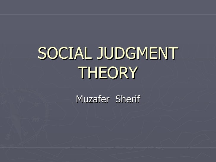 essay honor in intergroup judgment muzafer relations sherif social And our professional writer will complete a custom essay essay honor in intergroup judgment muzafer relations sherif and social network.